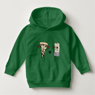 Pepperoni Pizza VS Burrito: Mexican versus Italian Hoodie