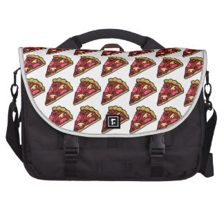 Pepperoni Pizza w/ Mushrooms, Peppers, and Olives Laptop Computer Bag
