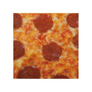 Pepperoni Pizza Wood Wall Decor
