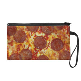 Pepperoni Pizza Wristlet Purse