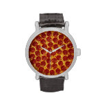 Pepperoni Pizza Wristwatches