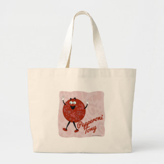 Pepperoni Tony Canvas Bag