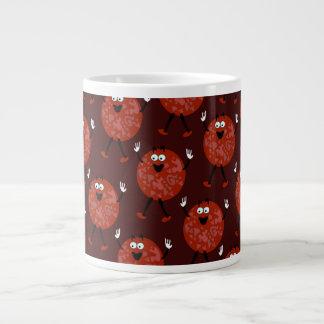 Pepperoni Tony Pattern Large Coffee Mug