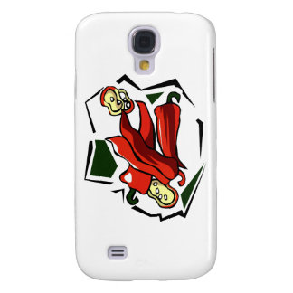 Peppers abstract square graphic samsung galaxy s4 cover