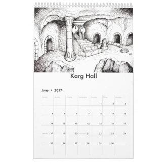 Pepper's Adventures Fantasy Art 2017 Calendar