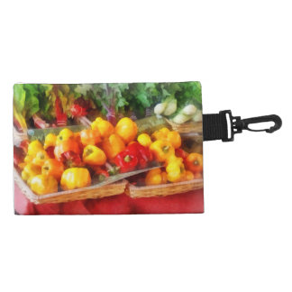 Peppers at Farmers Market Accessory Bags