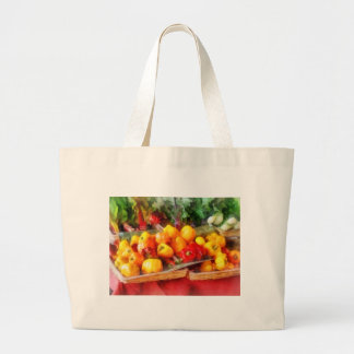 Peppers at Farmers Market Tote Bag