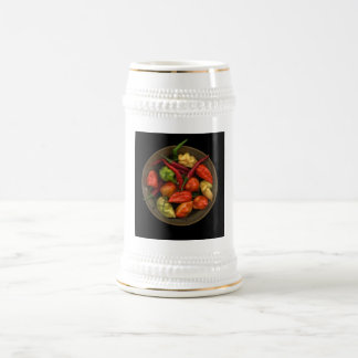 Peppers Beer Stein