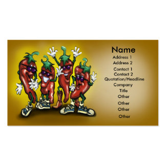 Peppers Card Business Card