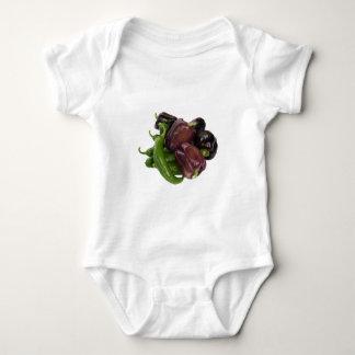 Peppers & eggplant baby bodysuit