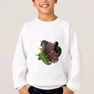 Peppers & eggplant sweatshirt
