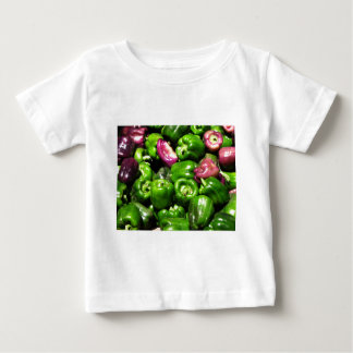 Peppers  Green Purple Baby T-Shirt