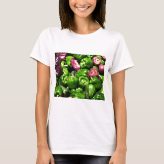 Peppers  Green Purple T-Shirt
