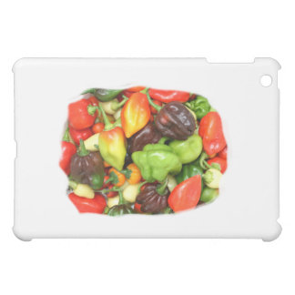 Peppers, hot and spicy photograph case for the iPad mini