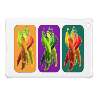 Peppers Hot Food Colorful Destiny Gifts iPad Mini Case