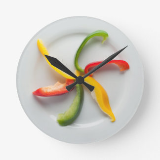 Peppers II Wall Clock