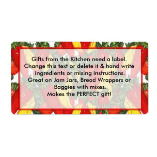 Peppers Labels Gifts from the Kitchen need labels