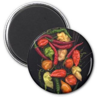Peppers Fridge Magnet