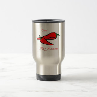 peppers 15 oz stainless steel travel mug