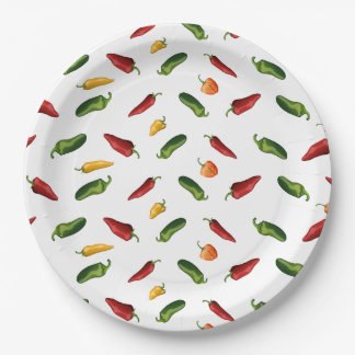 Peppers Paper Plate