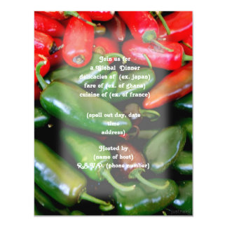 peppers party invite