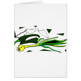 peppers scallions green graphic card