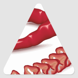 Peppers Triangle Sticker