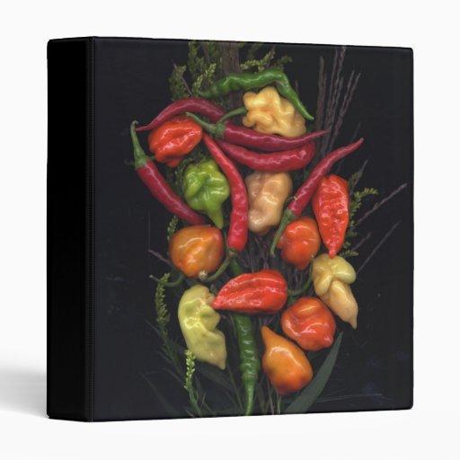 Peppers Vinyl Binder