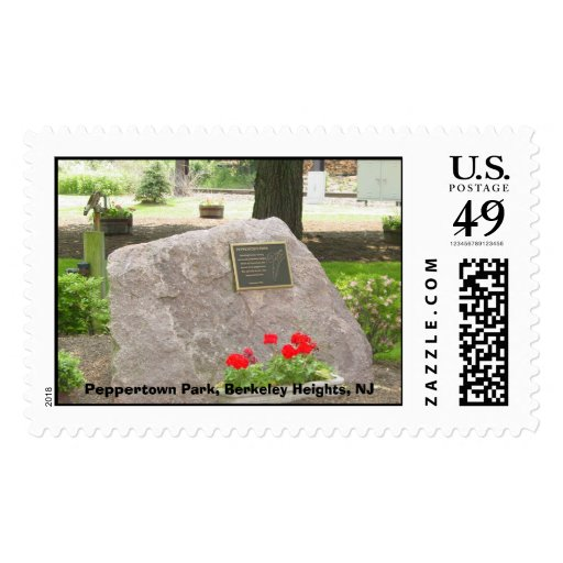 Peppertown Park, Berkeley Heights, NJ Postage