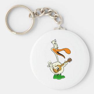 Peppy Pelican Key Chain