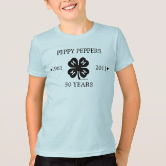 Peppy Peppers 50th Anniversary t-shirt