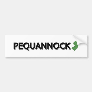 Pequannock, New Jersey Car Bumper Sticker