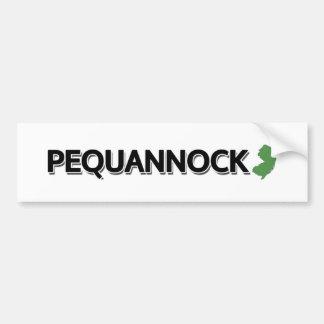 Pequannock, New Jersey Pegatina Para Auto