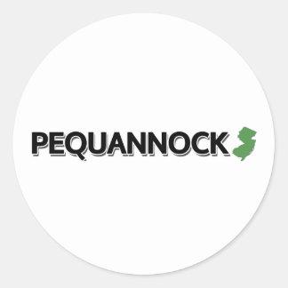 Pequannock, New Jersey Pegatina Redonda