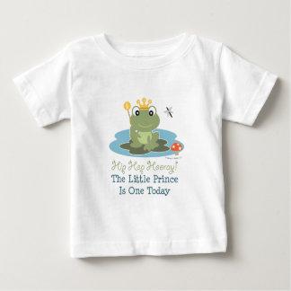 Pequeña 1ra camiseta del muchacho del cumpleaños playera
