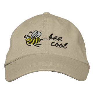 Pequeña abeja - abeja fresca - casquillo gorra de béisbol