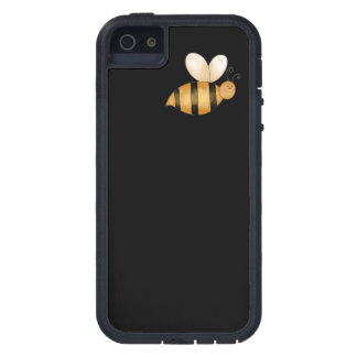 Pequeña abeja linda iPhone 5 funda