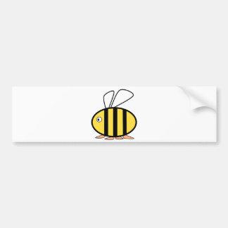 Pequeña abeja linda pegatina para auto