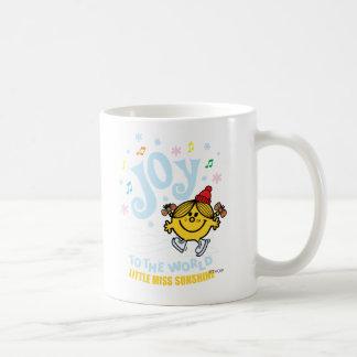 Pequeña alegría de Srta. Sunshine el   al mundo Taza De Café