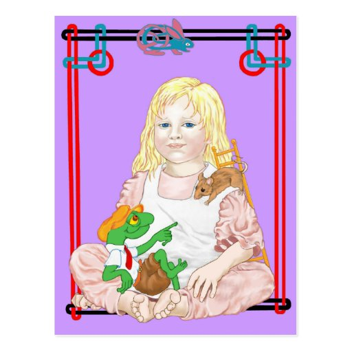 Pequeña Alice Liddell Tarjetas Postales