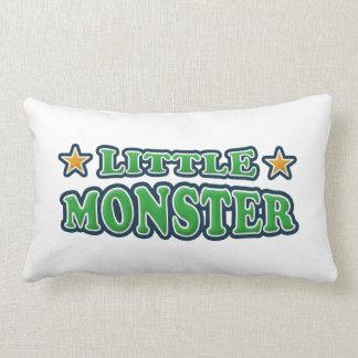 Pequeña almohada de tiro del bebé del monstruo