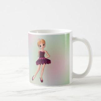 Pequeña bailarina 2 taza de café