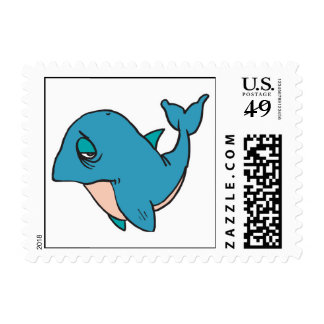 pequeña ballena triste franqueo