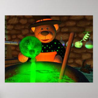 Pequeña bruja de los osos pequeños poster
