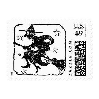Pequeña bruja del sello $0,49 (1ra clase 1oz)