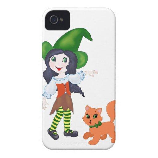 Pequeña bruja iPhone 4 cárcasa