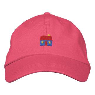 Pequeña cabina gorras bordadas