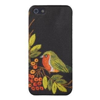 Pequeña caja de la mota del iPhone 4 del pájaro iPhone 5 Fundas