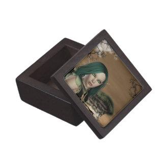 Pequeña caja de regalo de Elven Archer Cajas De Joyas De Calidad
