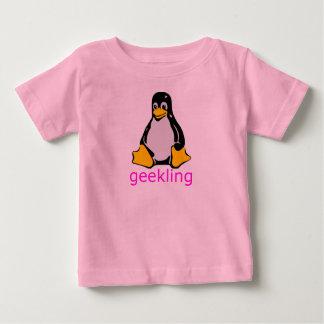 Pequeña camisa de Geekling de los frikis